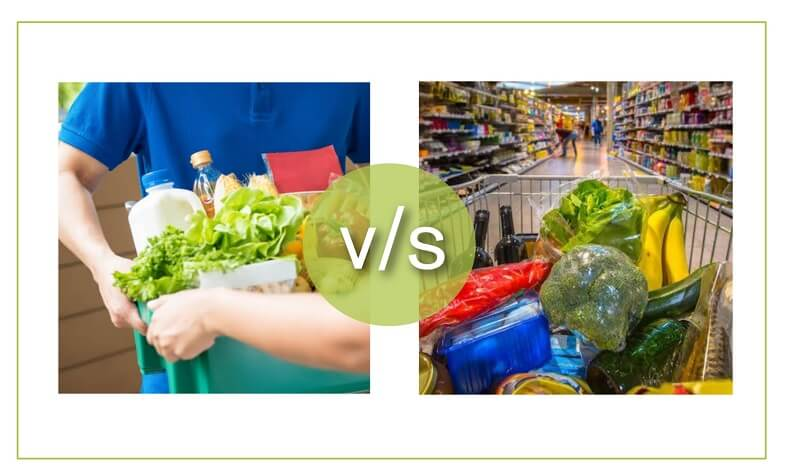 Confused About Grocery Shopping? Online Vs. Traditional, We Solve The Math For You.