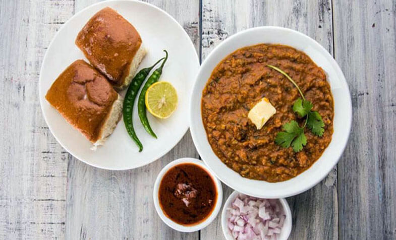 Indian Fast Food : Pav Bhaji