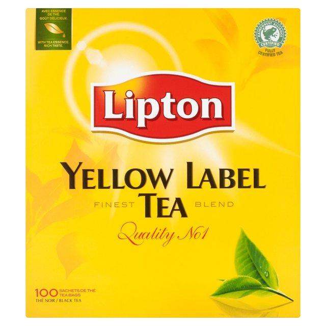 Buy Tea Lipton Yellow Label Tea | Order Groceries Online ...