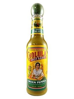 Cholua Hot Sauce Green Pepper
