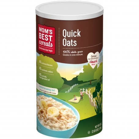 Moms Quick Oats Tube 1 Lbs