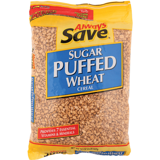 Buy Always Save Sugar Puffed Wheat Cereal