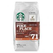 STAR BUCKS PIKE PLACE  ROAST  GROUND  100% ARABICA COFFEE