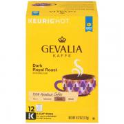 GEVALIA  KAFFE DARK ROYAL ROAST  full bodied, bold 100% ARABICA COFFEE