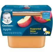 GERBER  APPLE 2PACK