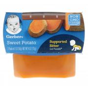 GERBER SWT POTATO 2PACK