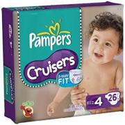 PAMPERS CRUISE SIZE 4