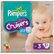 PAMPERS CRUISE SIZE 3