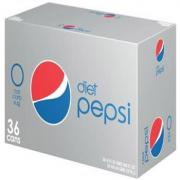 DIET PEPSI (35 COUNT - 12 OZ CANS)