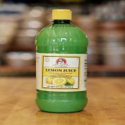 Chefs Quality-Lemon Juice(12 Bottles of 32 OZ Each)