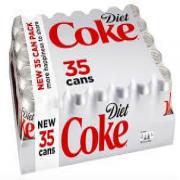 Diet Coke (35 Count of 12 OZ Each)